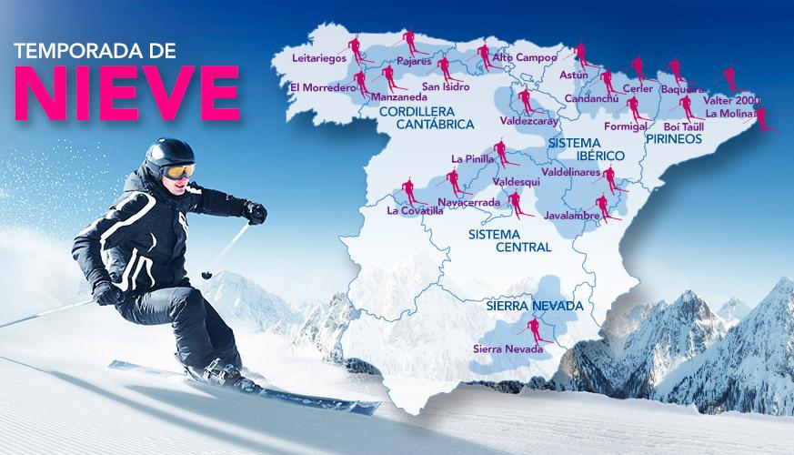 Estaciones Esquí Españolas
